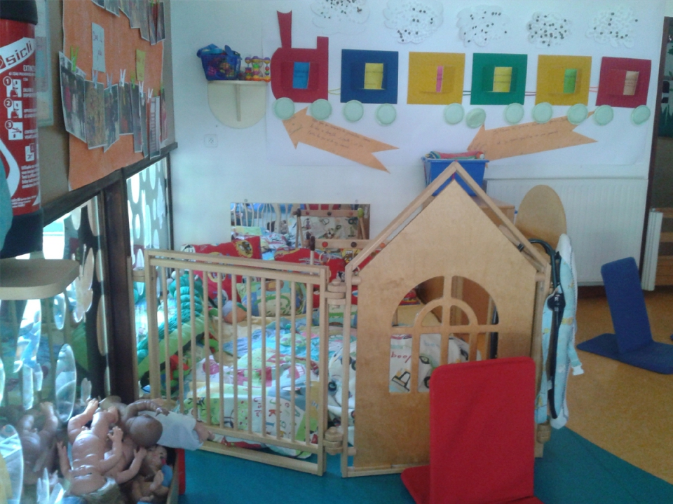 Aménager un espace dédié aux enfants, à leurs besoins, au respect de leur rythme